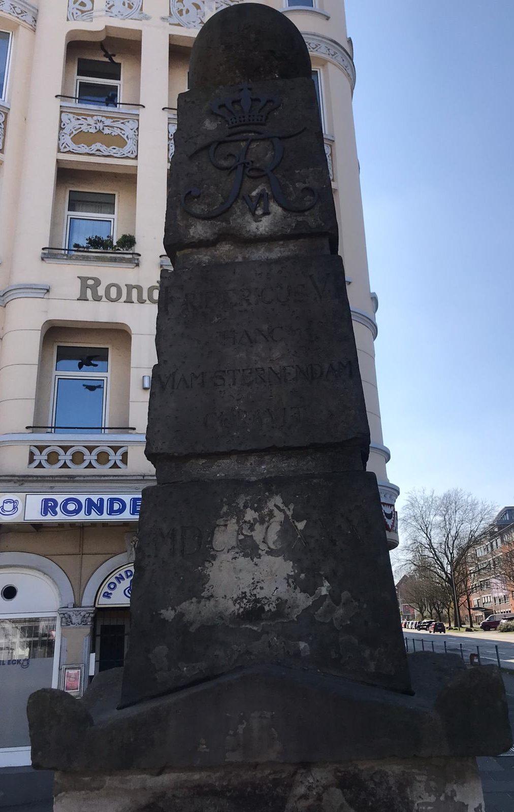 Obelisk am Rondeel in Kiel